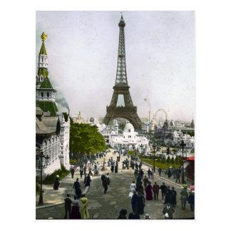 Torre Eiffel Universal Exhibition of Paris Postcard