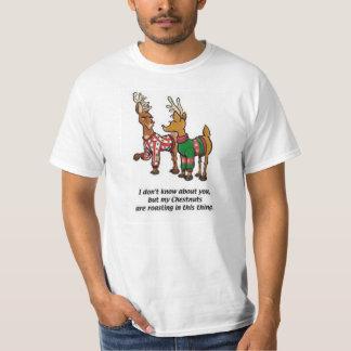 Torréfaction de châtaignes t-shirt