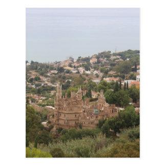 Torremolinos View Range - Spain Postcard