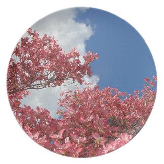 Torrent of Blossoms Dinner Plates