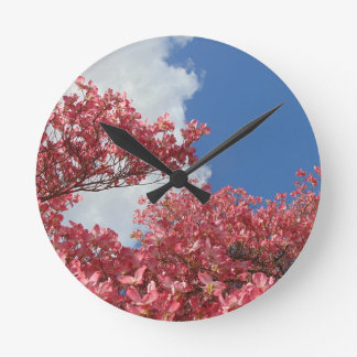 Torrent of Blossoms Round Clock