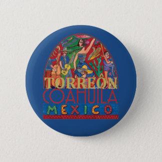 TORREON Mexico 2 Inch Round Button