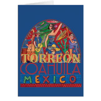 TORREON Mexico Card