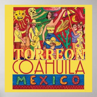 TORREON Mexico Poster
