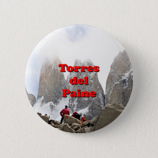 Torres del Paine: Chile 2 Inch Round Button