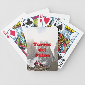 Torres del Paine: Chile Bicycle Playing Cards