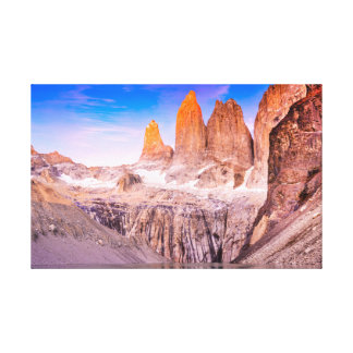Torres del paine Chile Canvas Print