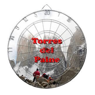 Torres del Paine: Chile Dartboard