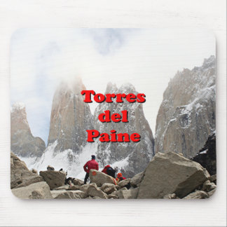 Torres del Paine: Chile Mouse Pad
