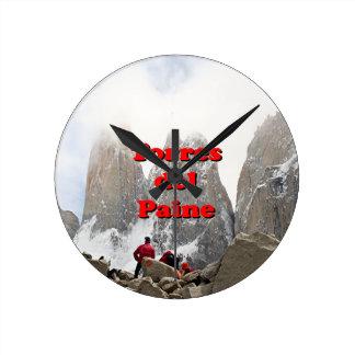 Torres del Paine: Chile Wallclocks