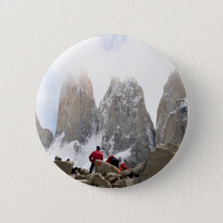 Torres del Paine National Park, Chile 2 Inch Round Button