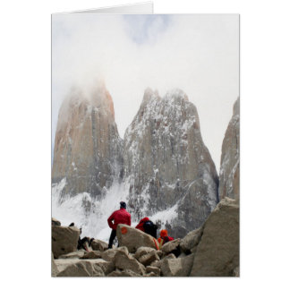 Torres del Paine National Park, Chile Card