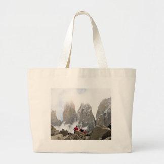 Torres del Paine National Park, Chile Large Tote Bag