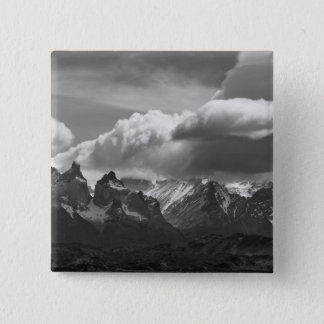 Torres Del Paine National Park,  Cuernos and 2 Inch Square Button