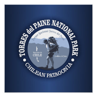 Torres del Paine NP Poster