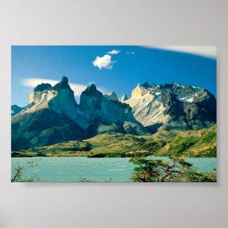 Torres Del Pane National Park, Chile Poster