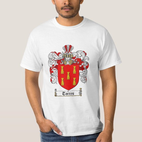 Torres Family Crest - Torres Coat of Arms T-Shirt