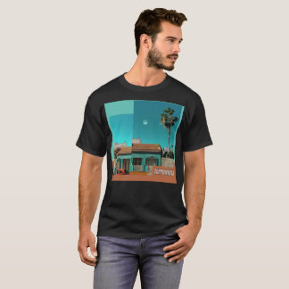 Torrevieja in Orange and Turqoise T-Shirt