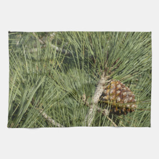 Torrey Pine Closeup California Tree Kitchen Towel