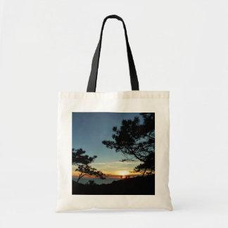Torrey Pine Sunset III California Landscape Tote Bag