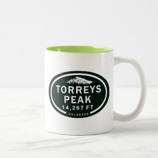 Torreys Peak 14,267 FT CO 14er Mountain Mug
