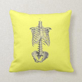 Torso Skeleton with Femurs Pillow