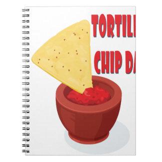 Tortilla Chip Day - Appreciation Day Notebook