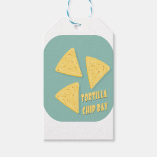 Tortilla Chip Day - Appreciation Day Pack Of Gift Tags