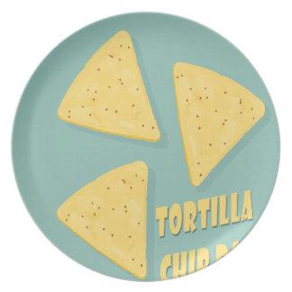 Tortilla Chip Day - Appreciation Day Plates
