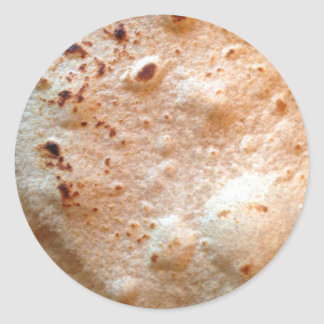 Tortilla Classic Round Sticker