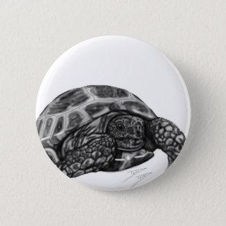 Tortoise 2 Inch Round Button