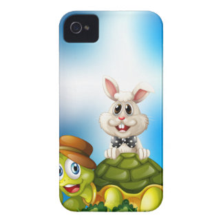 Tortoise and hare iPhone 4 Case-Mate case