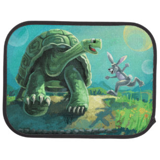 Tortoise and the Hare Art Car Mat