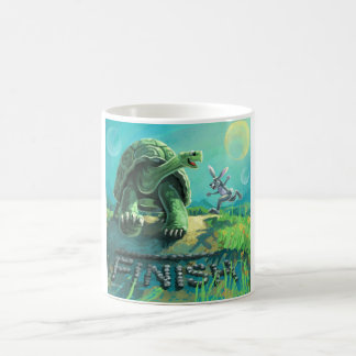 Tortoise and the Hare Art Coffee Mug