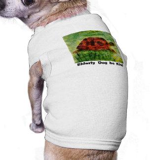 Tortoise Animal Art for older dogs Pet Clothing