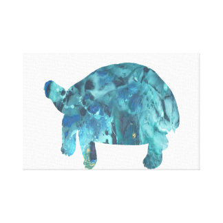 Tortoise Art Canvas Print