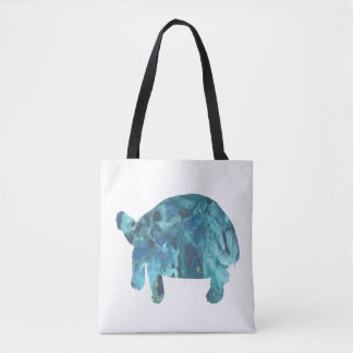 Tortoise Art Tote Bag