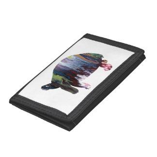 Tortoise Art Tri-fold Wallet