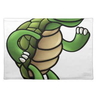 Tortoise Cartoon Character Placemat