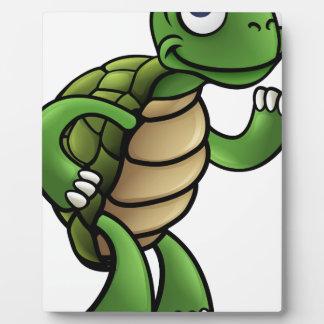 Tortoise Cartoon Character Plaque