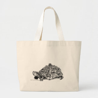 Tortoise City Large Tote Bag