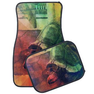 Tortoise Fair in the Pond's Mirror Glare Auto Mat
