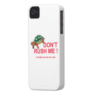 TORTOISE RED iPhone 4 Case-Mate CASE