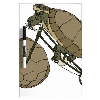 Tortoise Riding Bike W/ Tortoise Shell Wheels Dry Erase Board
