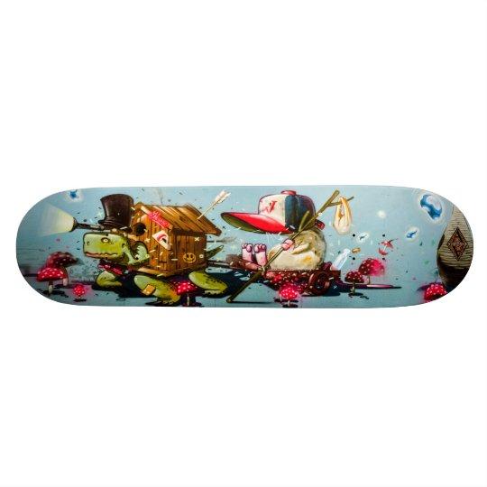 Tortoise Road Trippin' - Street Art Skate Deck