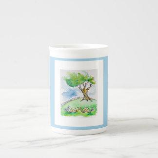 Tortoise Romance Tea Cup