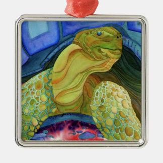 Tortoise, turtle metal ornament