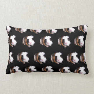 Tortoiseshell Guinea Pigs, Lumbar Cushion. Lumbar Pillow