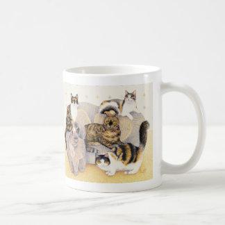 Tortoiseshell ladies coffee mug