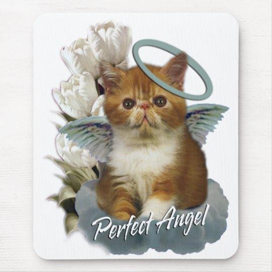 Tortoiseshell Persian Angel Mouse Pad